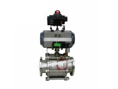 What are causes of leakage of pneumatic ball valves?