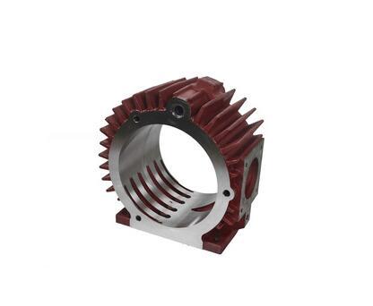 Dry screw vacuum pump of cylinder