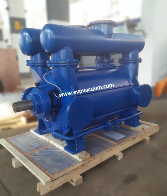 Liquid ring vacuum pump for foam industry