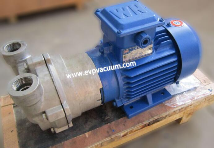 Why cover the vacuum pump head with a screw pump?