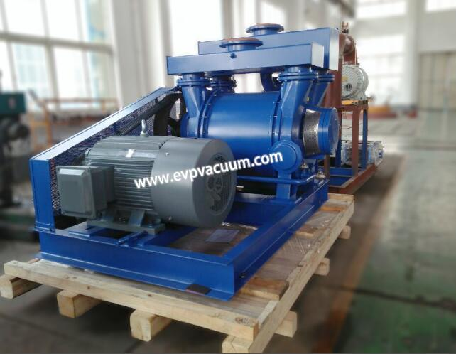 liquid ring vacuum pump in air release valve of function