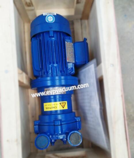liquid ring vacuum pump of effective cooling method