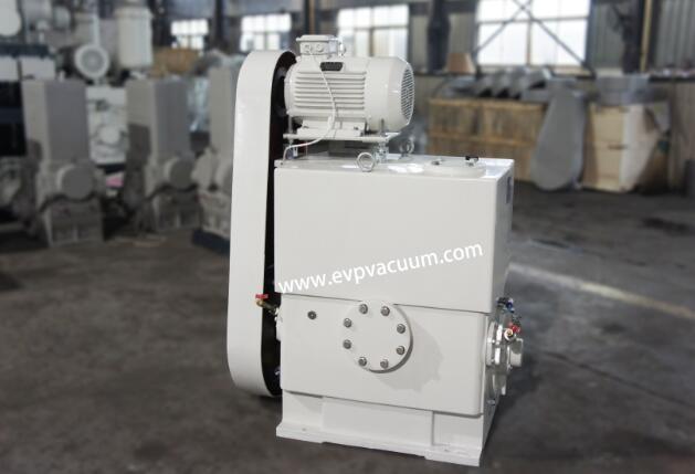 Piston vacuum pump in paint
