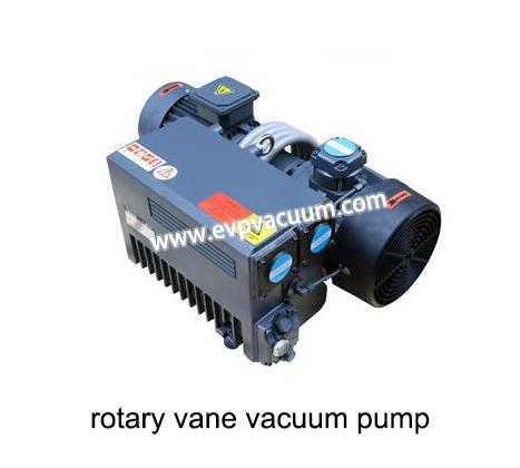Vacuum pump for rubber degassing