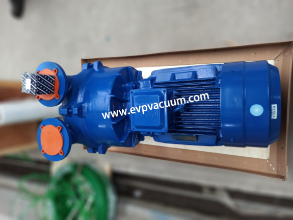 Vacuum pump for sterilization of tea and flavoring spices