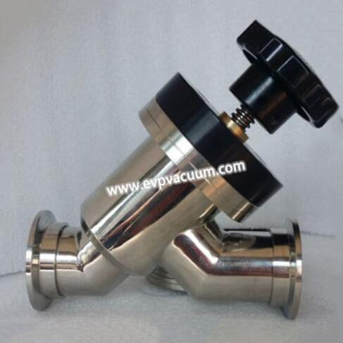 Y-type vacuum flapper valve