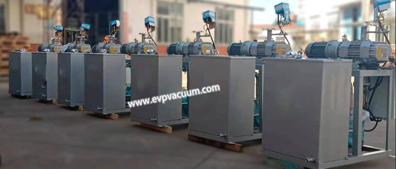 roots water ring vacuum unit for polyol process