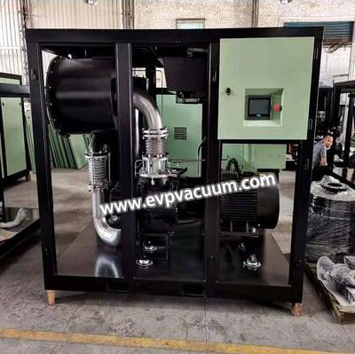 Customized screw vacuum pump for optoelectronic industry