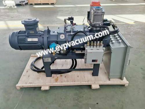 Oil-free dry screw vacuum pump solves environmental problems
