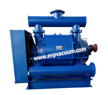 Vacuum pump for humidifying tobacco