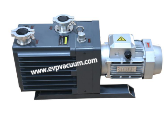backing pump on vacuum system of influence