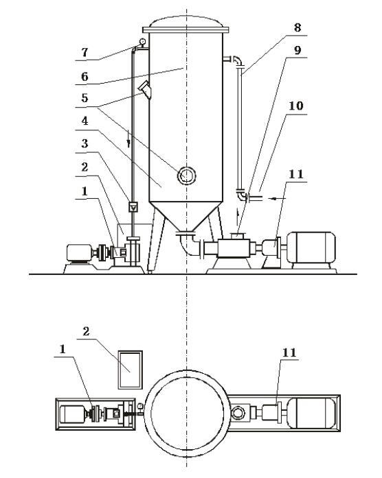 Vacuum pump for 50 gallon juice degasser