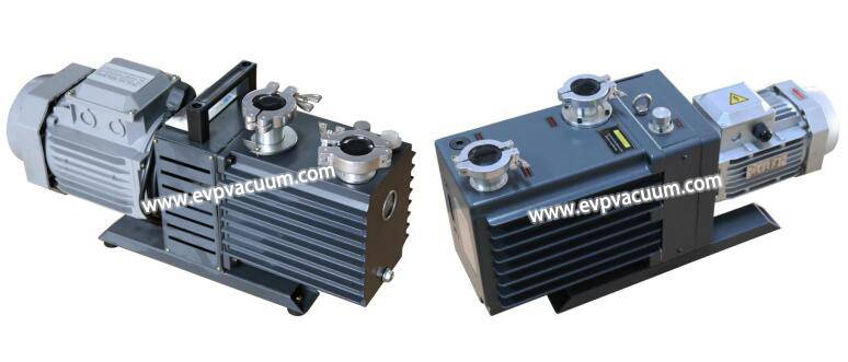 two-stage oil-lubricated rotary vane pump 2XZ series