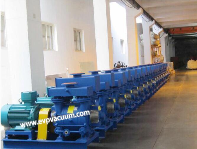 2BE series liquid ring vacuum pump/compressor