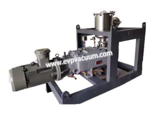 Vacuum pump and system in chemical and pharmaceutical industry