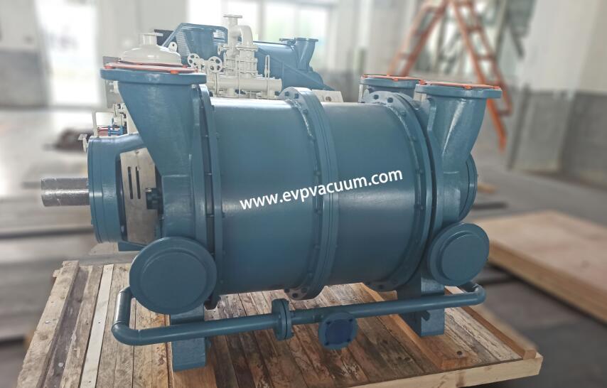 2 types of liquid ring compressors