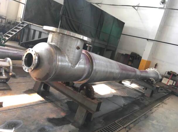 Steam jet vacuum pump in oil refining process