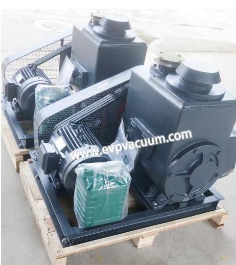 Rotary Vane Pump in Degassing of Epoxy Resin of Application