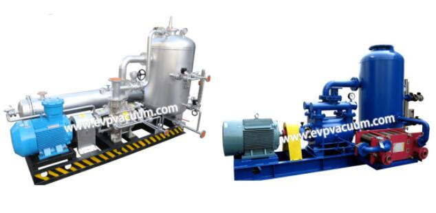 Liquid ring vacuum pump and liquid ring compressor inHydrogen