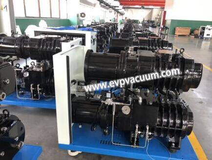 dry screw pumps to produce monocrystalline silicon