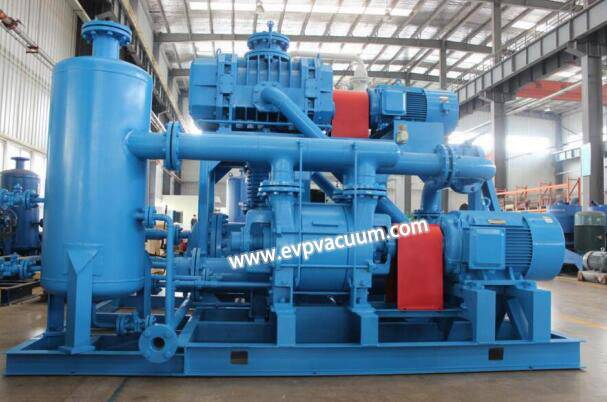 Air - cooled Roots water ring vacuum unit is used in energy saving renovation of power plant