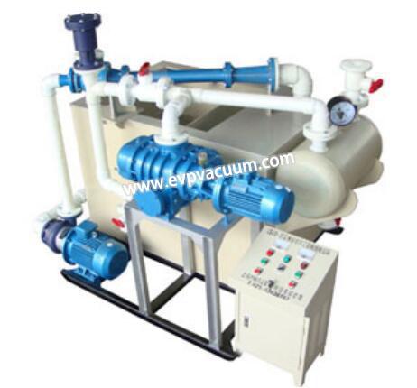 LSJ water jet roots vacuum pump unit