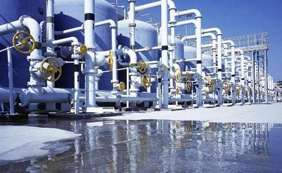 Vacuum distillation seawater desalination of principle