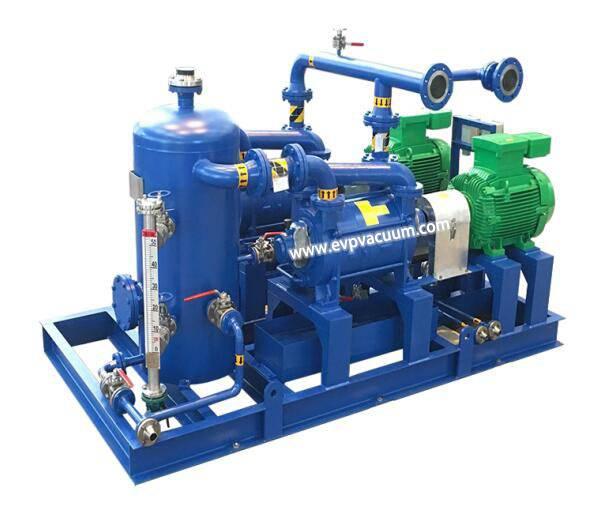 Liquidring vacuum pumps
