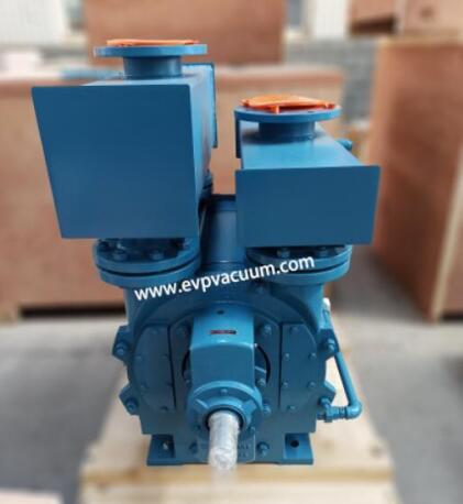 Liquid ring compressor of features
