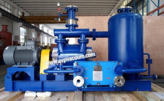 Vacuum pump used in wood treatment-Impregnation