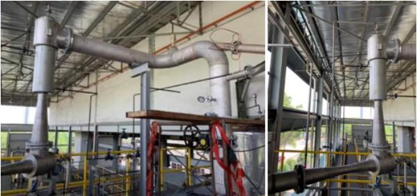 Steam Ejector Vacuum Pump in Vacuum Distillation Process of Cosmetics Plant Application