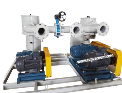 Roots blower for textile printing and dyeing energy-saving dehydration