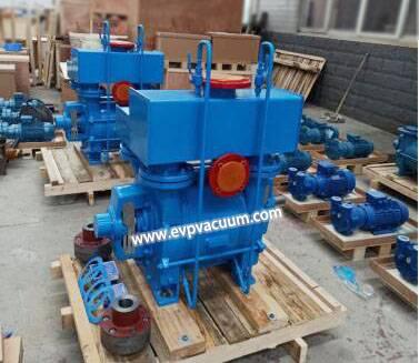 Liquid ring vacuum pump used in renewable resources