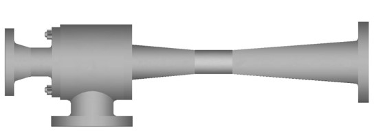 first-stage ejector