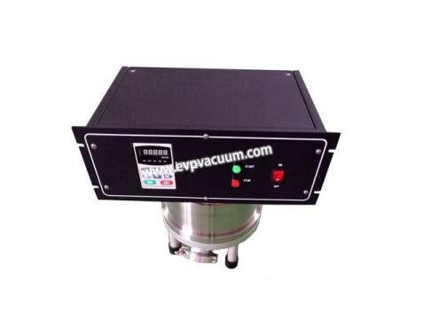 Molecular vacuum pump for glass coating