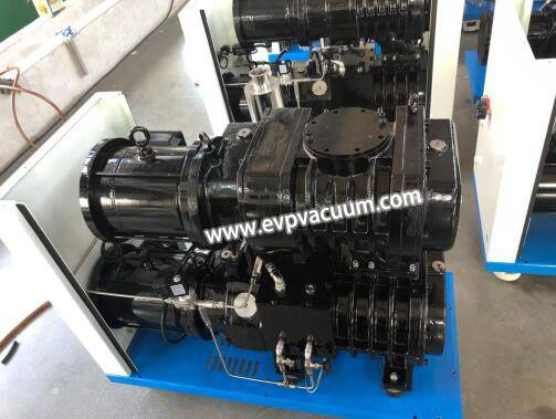 How many combinations of dry screw vacuum pumps do you know?