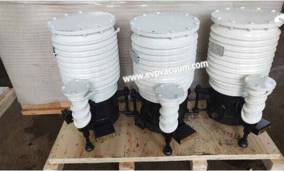 second stage uses oil diffusion pump
