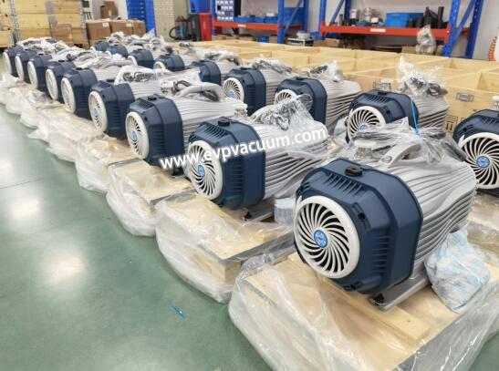 Scroll Pump in Epoxy Resin Vacuum Degassing Industry of Application