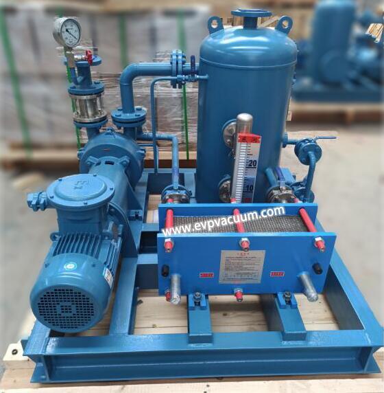 Water Ring Vacuum Pump System