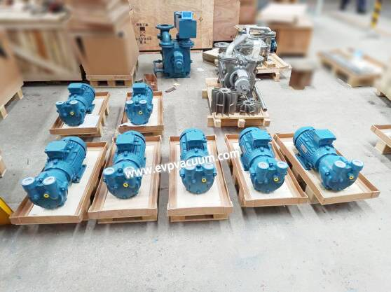 Vacuum pump used in Plastic polymer monomer recycling