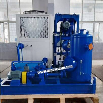 two-stage water ring vacuum pump in evaporator industry of application