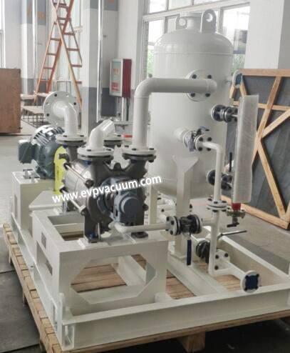 water ring vacuum pump in evaporator industry