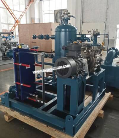two-stage water ring vacuum pump in evaporator industry