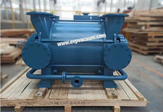 Water ring vacuum pump for environmentally friendly pulp packaging industry
