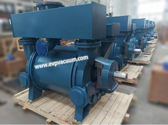 Liquid ring vacuum pumps are used in the metallurgical industry