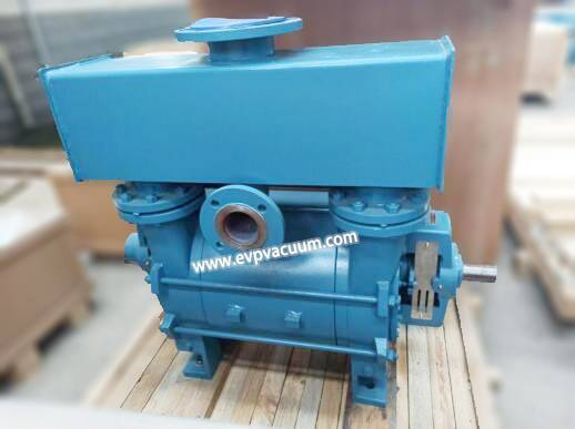 water ring vacuum pump is used for reclaiming farmland from water