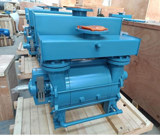 Vacuum unit-vacuum pump preventive maintenance