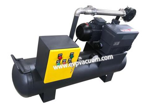 vacuum system special for extrusion molding equipment