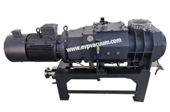 Dry screw vacuum pump for heat pipe industry