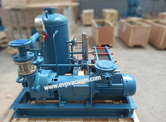 Water Ring Vacuum Pump System Used in Automotive Semiconductor